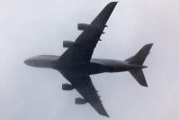 Lufthansa A380 na Lotnisku Chopina